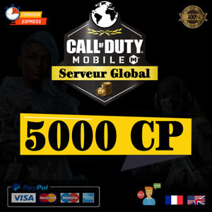 Call Of Duty Mobile 5000 CP FR