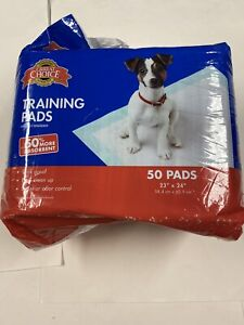 GRREAT CHOICE TRAINING PADS 23''x 24'' 50CT open 1 missing
