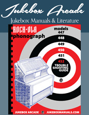 Rock Ola Jukebox Troubleshooting Manual for 447 448 449 450 451 452 in COLOR!