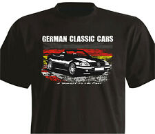 T-Shirt Color Print Oldtimer R129 1989 -1993 300SL - 500SL Roadster  Mercedes