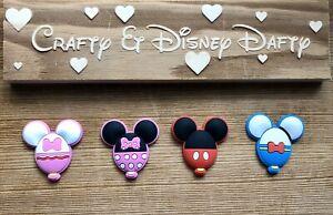 Disney-themed PVC Plastic Flatback Resin Fridge Magnets