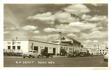 SOUTHERN PACIFIC DEPOT, RENO, NEVADA, VINTAGE RPPC POSTCARD