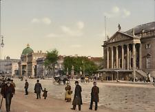 Berlin. Platz am Opernhaus. Vintage photochrome, Deutschland photochromie, vin