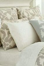 NEW! Barbara Barry Poetical Euro Sham-Color:Silver***$60.00** Value