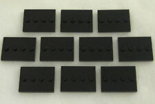 10 NEW LEGO COLLECTIBLE MINIFIGURE STANDS black minifig tile pieces 8683 plates