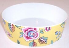 NEW Block Spal Izmir Yellow Floral Coupe Cereal Bowl, Rezzan Unver, Portugal