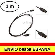 Cable de Fibra Optica Audio Digital de 2,2 mm Toslink Dorado 1 Metro a2964