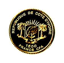 Die kleinsten Goldmünzen der Welt,Cote de Ivoire 2008,Gold Coins,Raritäten,Top