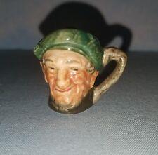 "vintage Royal Doulton tiny ""Auld Mac"" toby mug jug 1 1/2"" tall England D6267"