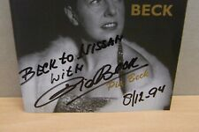 1x CD Gesigneerd - Signed / Pia Beck - Back To Beck 1994 (s120)