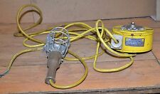 Woodhead Industrial trouble light safeway reel retractable cord steam punk tool