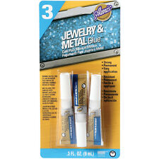 """Aleene's Jewelry & Metal Glue 3/Pkg-.1oz, Set Of 6"""