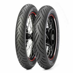 61V Fits Dunlop F20 Front Motorcycle Tire 110//90-18 Honda Magna VF700C 1984-1986