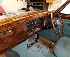 JAGUAR Mk2 Daimler/V8 Set pannello di controllo NOCE