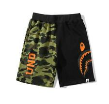 BAPE Neutral Beach Pants Men And Women Shark Head Casual Shorts Sports Pants New