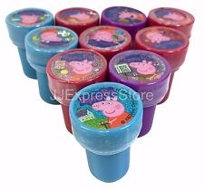 20x Peppa Pig Self-inking Stamp Birthday Party Favors Stampers