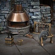 Terrain Crate: Blacksmith's Forge (6 Pieces) Fantasy Scenery - BRAND NEW!!!