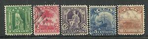 U.S. Possessions stamps scott 227, 228, 229, 230, 231 issues of 1899 - #5