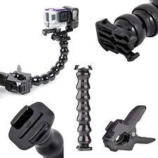 Pince Grip Col de Cygne Fixation Support pour caméra GoPro Hero Action Sport