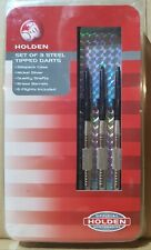 Holden Set of 3 Steel Tipped Darts - Multi