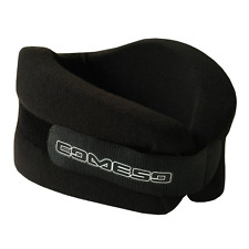 NINE MAX Foam Cervical Collar Neck Support Brace Adjustable Soft Wraps (Black).