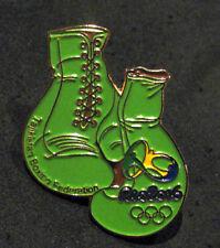 2016 RIO BRAZIL 31st Summer Olympic NOC TAJIKISTAN  BOXINGTeam dated pin
