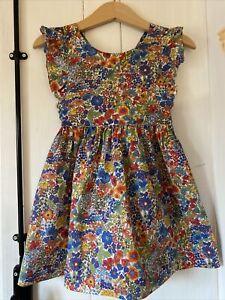 Jacadi Girls Dress Liberty Fabric 3 Years