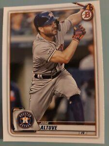 Topps Bowman Baseball 2020 - Houston Astros - Jose Altuve #88