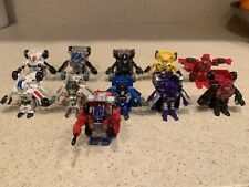 Hasbro Transformer Bot Shots; Lot Of 11