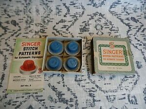 Singer Stitch Patterns for Automatic Zigzagger Part 161008