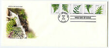 4973-77 forever Ferns (2015 date) PNS Plate Number Strip #10 ArtCraft FDC