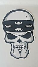 SRH Skull Spade Headband Logo  Decal Sticker  Original  Large 10""