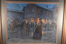 "Mort Kunstler Palace Bar Civil War Framed Print 18""x15"""