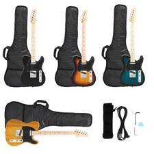 New 4 Colors Professional GTL Maple Fingerboard Electric Guitar w/ Bag Strap