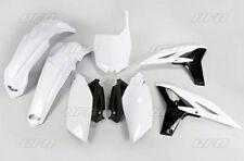 Kit plastique UFO motocross Yamaha YZF 250 4 temps 2010 blanc