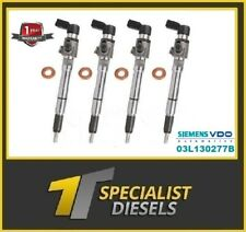 4 X 03L130277B  AUDI VW  SKODA 1.6 RECONDITIONED INJECTORS  5WS40539 A2C59513554