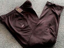 NWT Nike Women's M Black/White Therma Fit Sweat Pants Medium