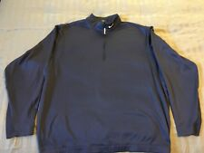 Men's Nike Golf Therma Fit 1/4 Zip Pullover Jacket XL Blue