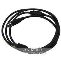 New USB DATA Cable for HP LaserJet Printer 8500 9500 M1015 CM1017 CM3530 Black