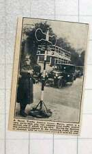 1923 Novel Traffic Control Apparatus Signal In Berlin Instead Of Arm Gestures