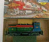 HO scale Athearn SW 1500 River City Rambler  Diesel Locomotive Custom Paint RARE