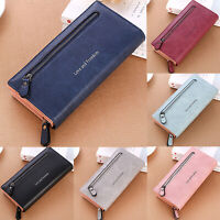 Women Lady Clutch Leather Wallet Case Purse Handbag Long Card Holder Phone Bag