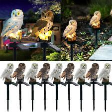 2019 Owl Ornament Solar Led Lawn Lamp for Outdoor Yard Garden Lighting Decor Usa