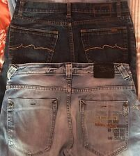"2 Pairs Of Mens TEDDY SMITH jeans 30""30"""