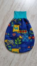 Pucksack Sommer Baby Strampelsack Schlafsack ♥ dünn Baumwolle gefüttert handmade
