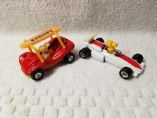 PEANUTS Snoopy & Woodstock Aviva Diecast Cars 1966 & 1972 Dist. Woolworth Co.