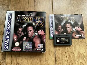 Road To Wrestlemania X8 Game Boy Advance Game! Complete! Look At My Other Games!