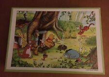 Older Tenyo Japan Disney Winnie the Pooh 300 Piece Puzzle D-300-912 SEALED