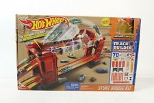 Hot Wheels Track Builder Stunt Bridge Kit - Preowned
