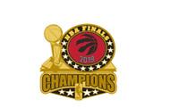 TORONTO RAPTORS - 2019 NBA CHAMPIONS - LAPEL/HAT PIN - BRAND NEW NBA-2549-PN-15
